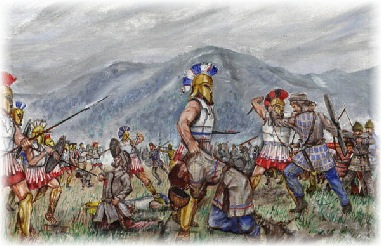 For days five hundred Spartans held off tens of thousands of Persian invaders at Thermopylae