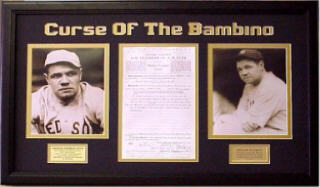 "Almost every fan of baseball was aware of the ""curse of Babe Ruth"""
