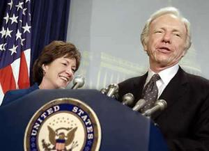 Sen. Joe Lieberman and Sen. Susan Collins are co-sponsors of the Intelligence Reform Act