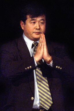 Mr. Li Hongzhi (Master Li), founder of the meditation practice Falun Gong