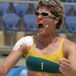 The President of Volleyball Australia praised Natalie Cook
