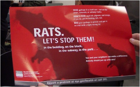 One Rat At A Time -- One Terrorist At A Time!!
