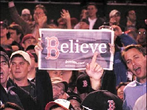 Belief played a vital role in the power of the Red Sox